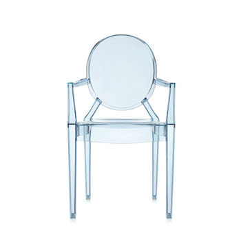 Loulou Ghost Children's Chair - Light Blue