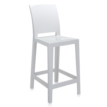 One More Please Stool 65cm - White
