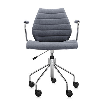 Maui Soft Swivel Armchair - Grey