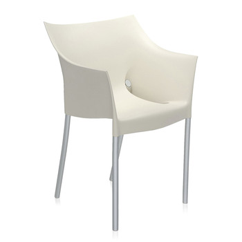 Kartell - Fauteuil Dr. NO - Blanc Cera
