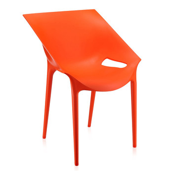 Dr. YES Chair - Orange Red