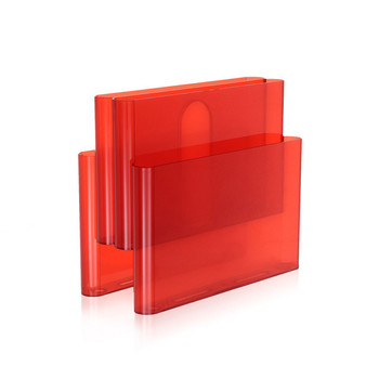 Magazine Rack - Orange Red