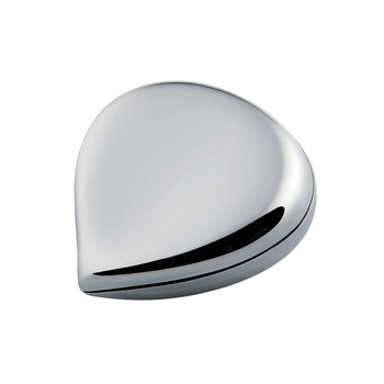 Chestnut Pill Box - Stainless Steel