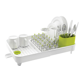 Extend Dish Rack - White