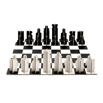 Noir & Blanc Chess Set