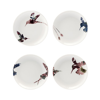 Flutter Side Plates - Set of 4