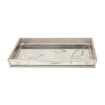 Atwater Tray Set - Silver Leaf