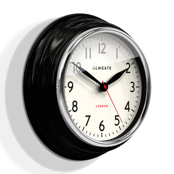 The Cookhouse Wall Clock - Black