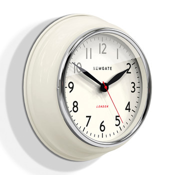 The Cookhouse Wall Clock - Linen White