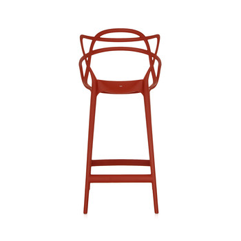Tabouret Masters - Orange Rouille