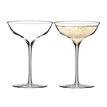 Elegance Champagne Belle Coupe - Set of 2