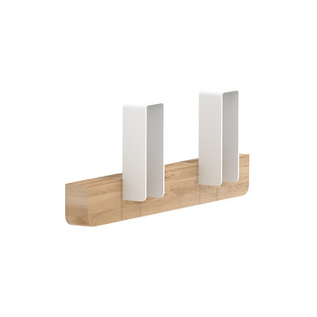 Merlin Coat Rack - White