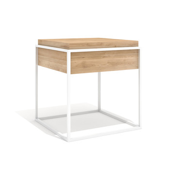 Monolit Side Table - Small - White