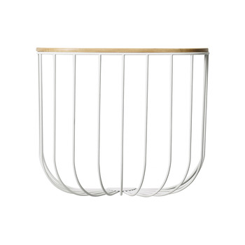 FUWL Cage Shelf - White/Light Ash