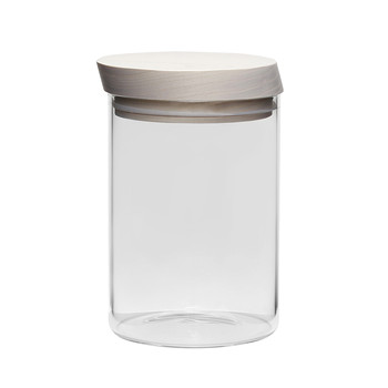 Trattoria Storage Jar - Ash Wood
