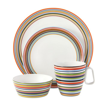 Origo Orange Tableware