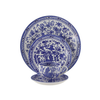 Regal Peacock Tableware  sc 1 st  Amara & Burleigh | English Pottery - Amara