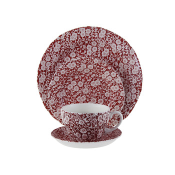 Red Calico Tableware