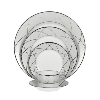 Clair De Lune Arcades Tableware