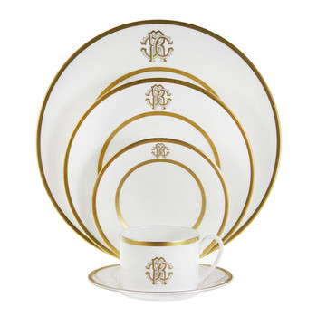 Silk Gold Tableware