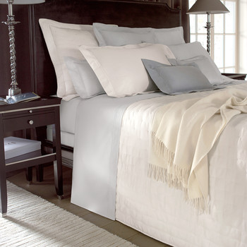 Triomphe Silver Bed Linen