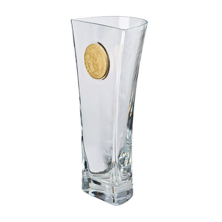 Buy Versace Home Medusa Madness Clear Vase Amara