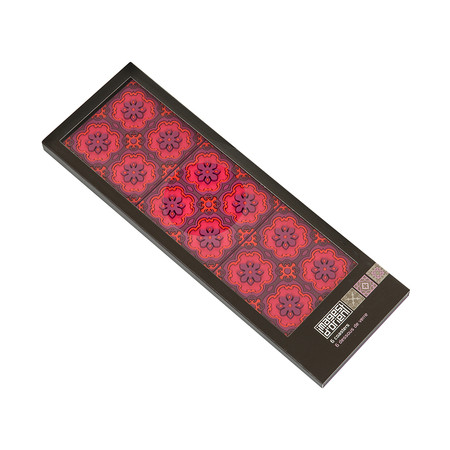 Images d'Orient - Set of 6 Coasters - Sejjadeh Ruby