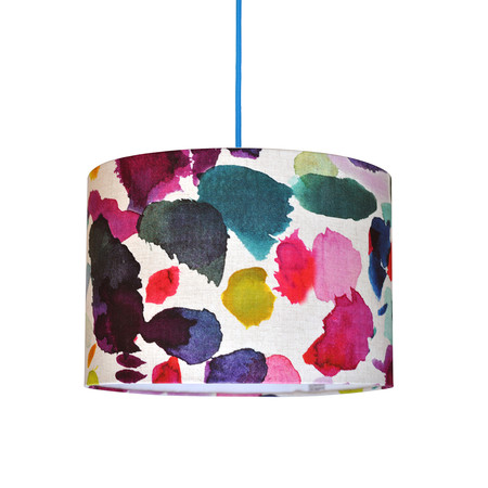 Bluebellgray - Abstract Lamp Shade - 40cm