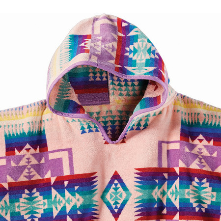 Pendleton - Chief Joseph Hooded Children's Towel - Pink