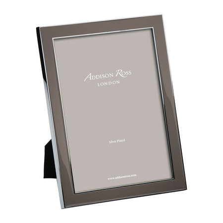 Addison Ross - Taupe Enamel Photo Frame - 4x6""