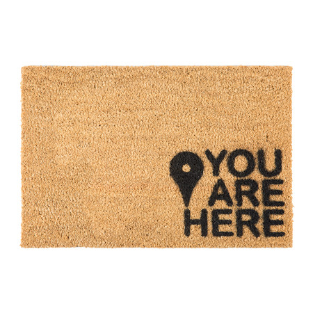 Buy Artsy Doormats You Are Here Door Mat Amara