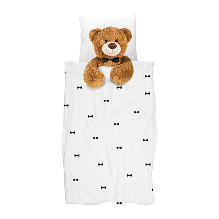 Snurk - Teddy Duvet Set - Single