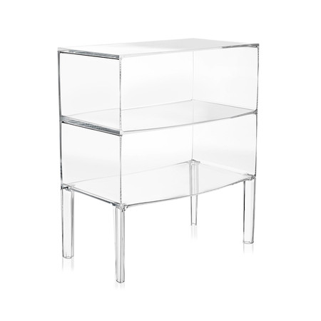 Kartell - Ghost Buster Commode - Crystal