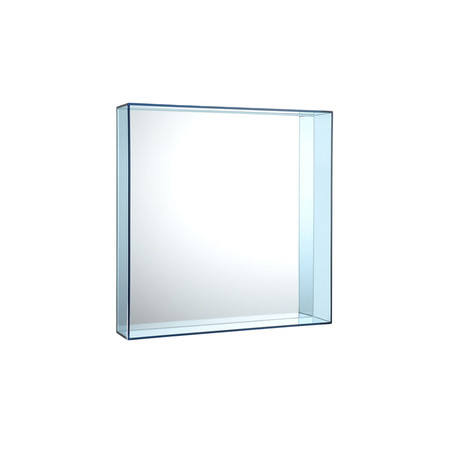 Buy kartell only me mirror pale blue 50x50cm amara for Miroir 50x50