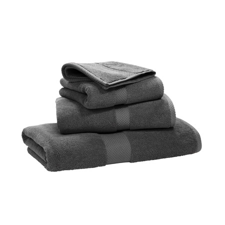 Ralph Lauren Home - Avenue Towel - Charcoal - Hand Towel