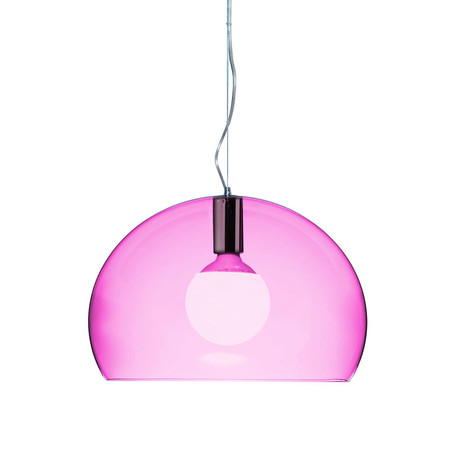 Kartell - Mini FL/Y Ceiling Light - Cardinal Red