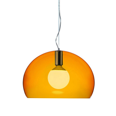Kartell - Mini FL/Y Ceiling Light - Orange