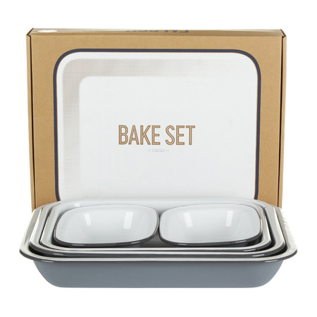 Falcon - Bake Set - Pigeon Grey