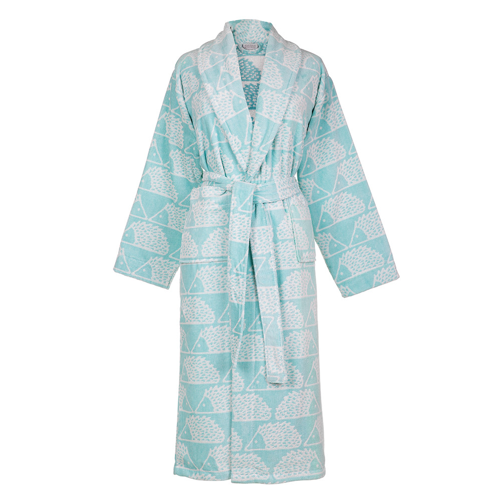 Buy Scion Spike Bathrobe - Aqua | Amara