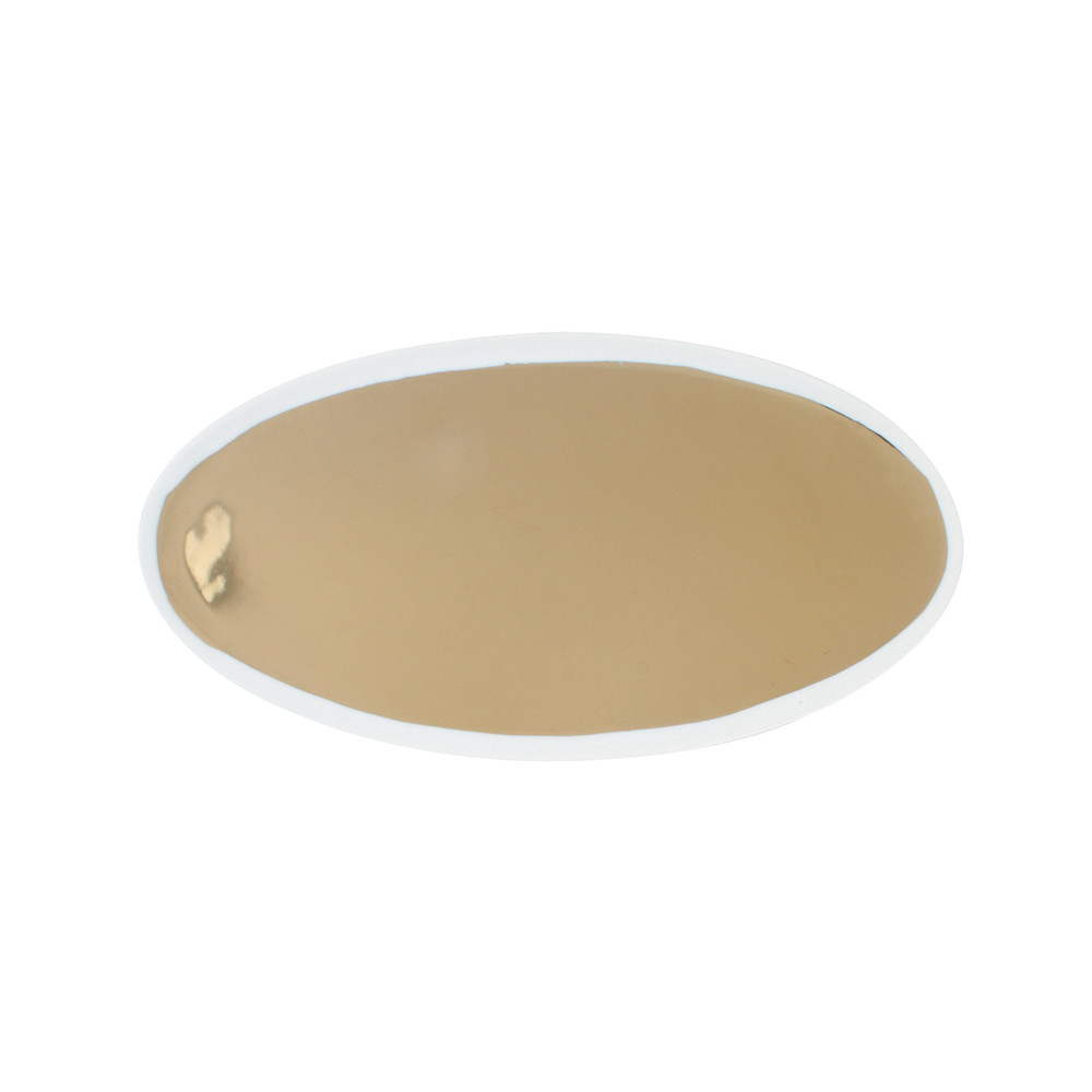 Canvas Home - Dauville Oval Platter - Gold - Large