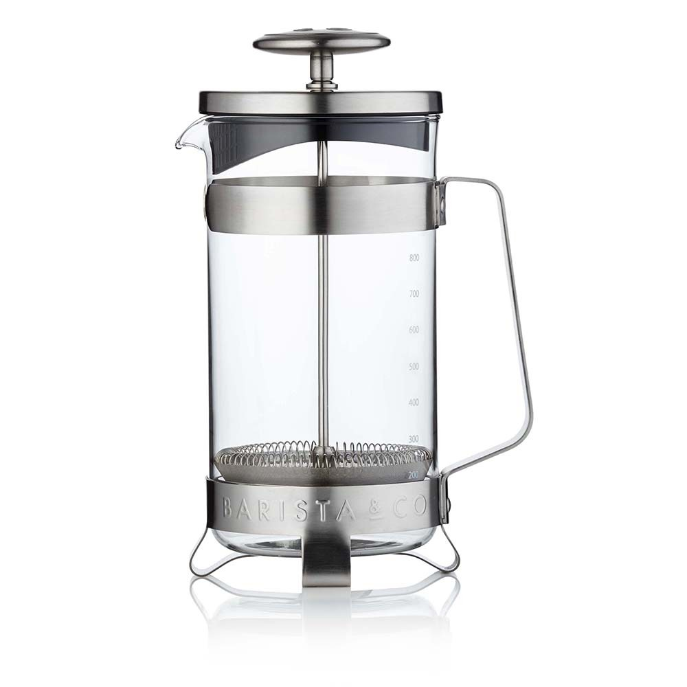 Barista  Co - Cafetiere - Electric Steel - 8 Cup