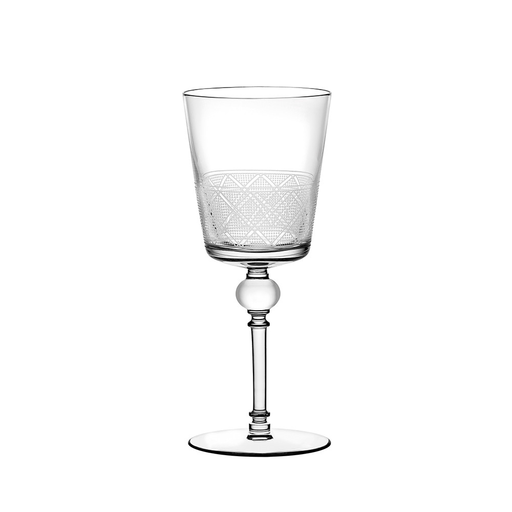Buy christofle jardin d 39 eden red wine glass amara for Jardin winery