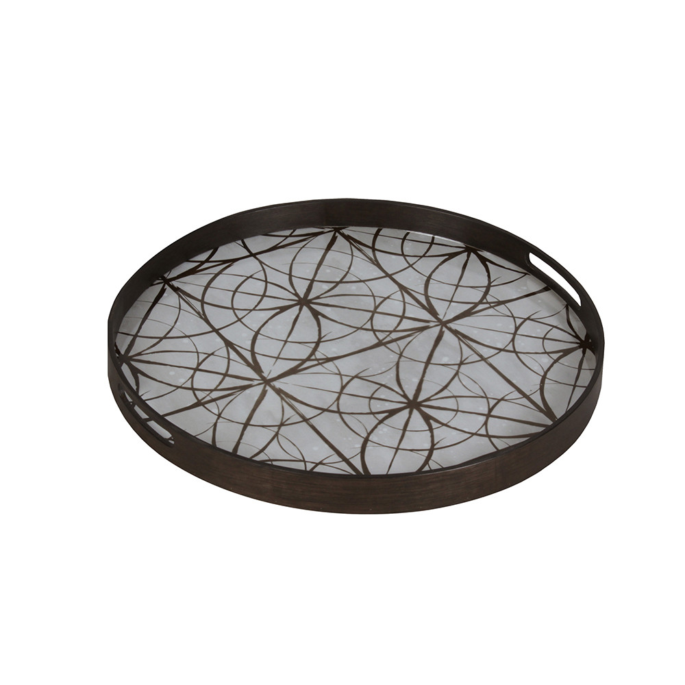 Notre Monde - Geometry Glass Tray