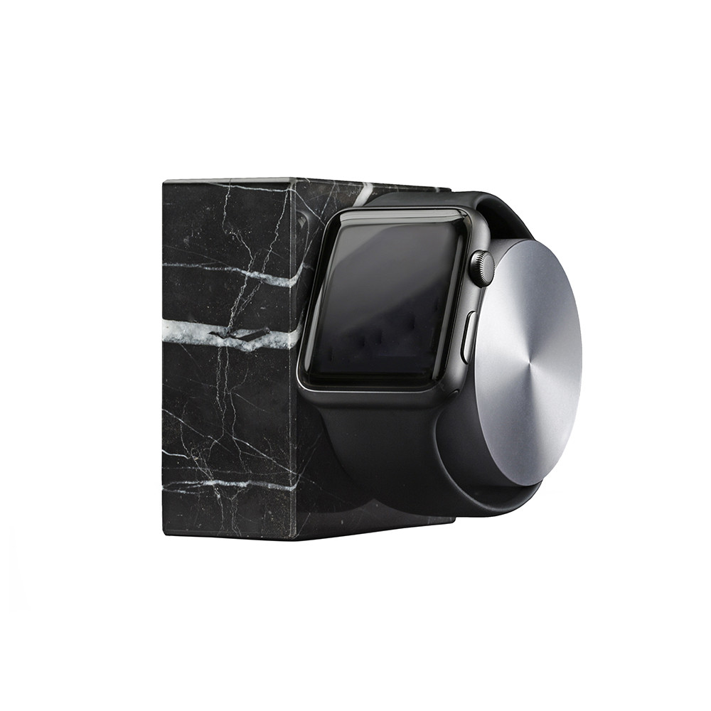 Native Union - Apple Watch Marble Charging Dock - Black