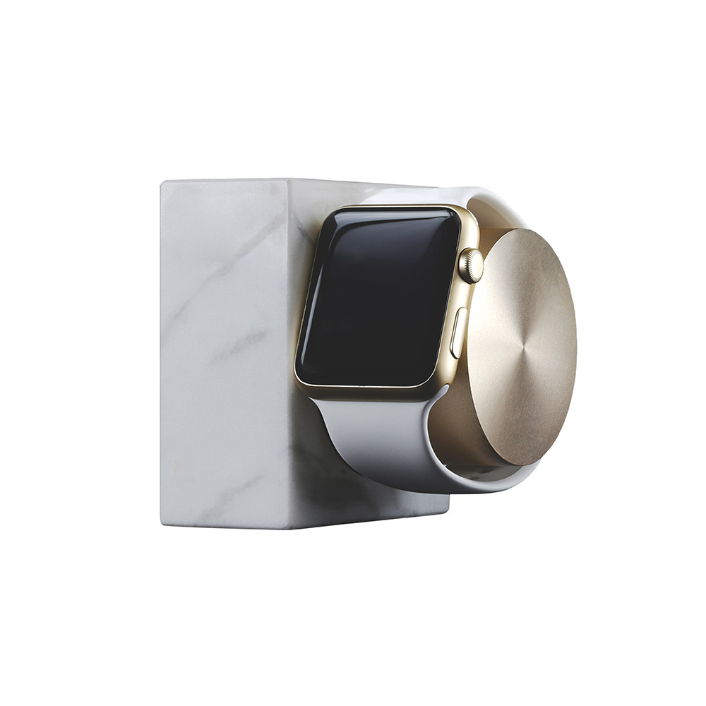Native Union - Apple Watch Marble Charging Dock - White