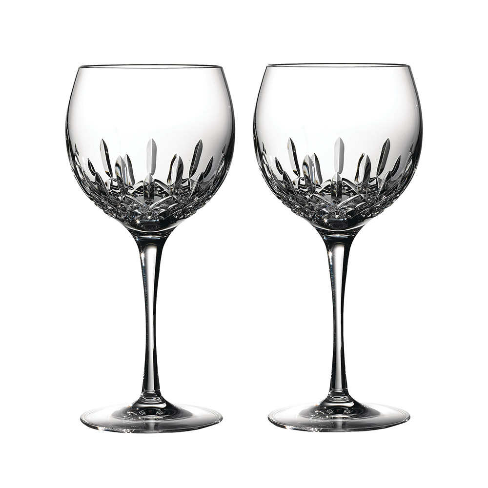 Waterford - Lismore Essence Balloon Wine Glasses - Set of 2