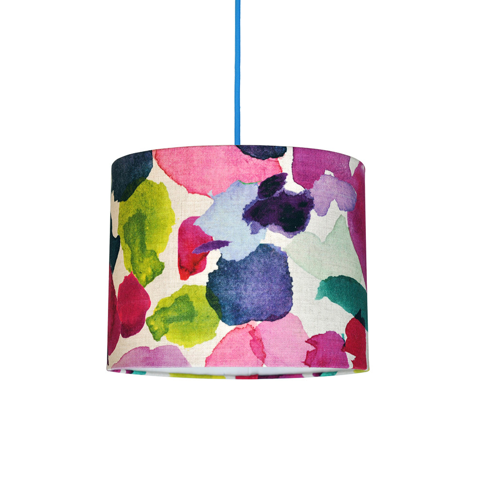 Bluebellgray - Abstract Lamp Shade - 30cm
