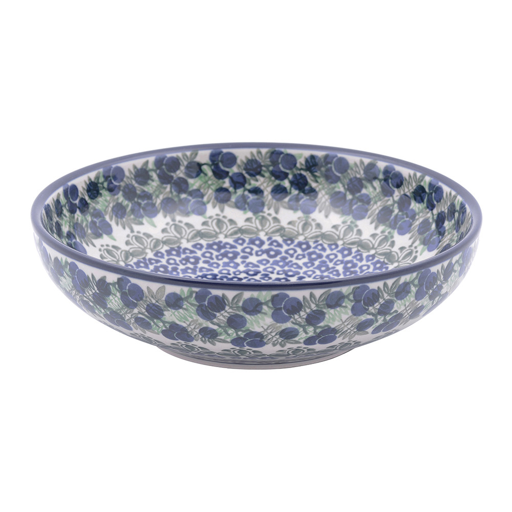bunzlau castle serving bowl myrtille medium gay