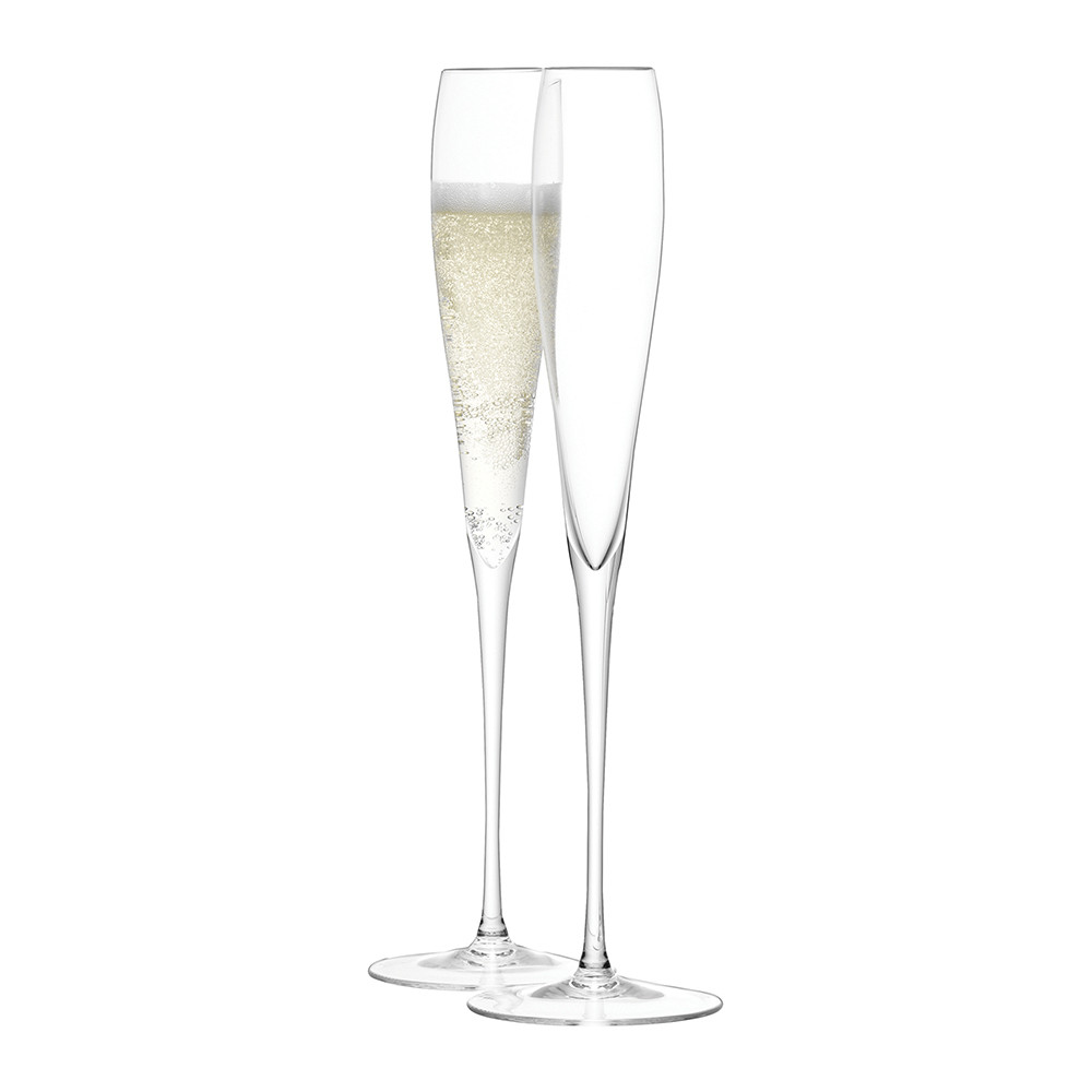 Buy LSA International Wine Grand Champagne Flutes   Set Of 2 | Amara