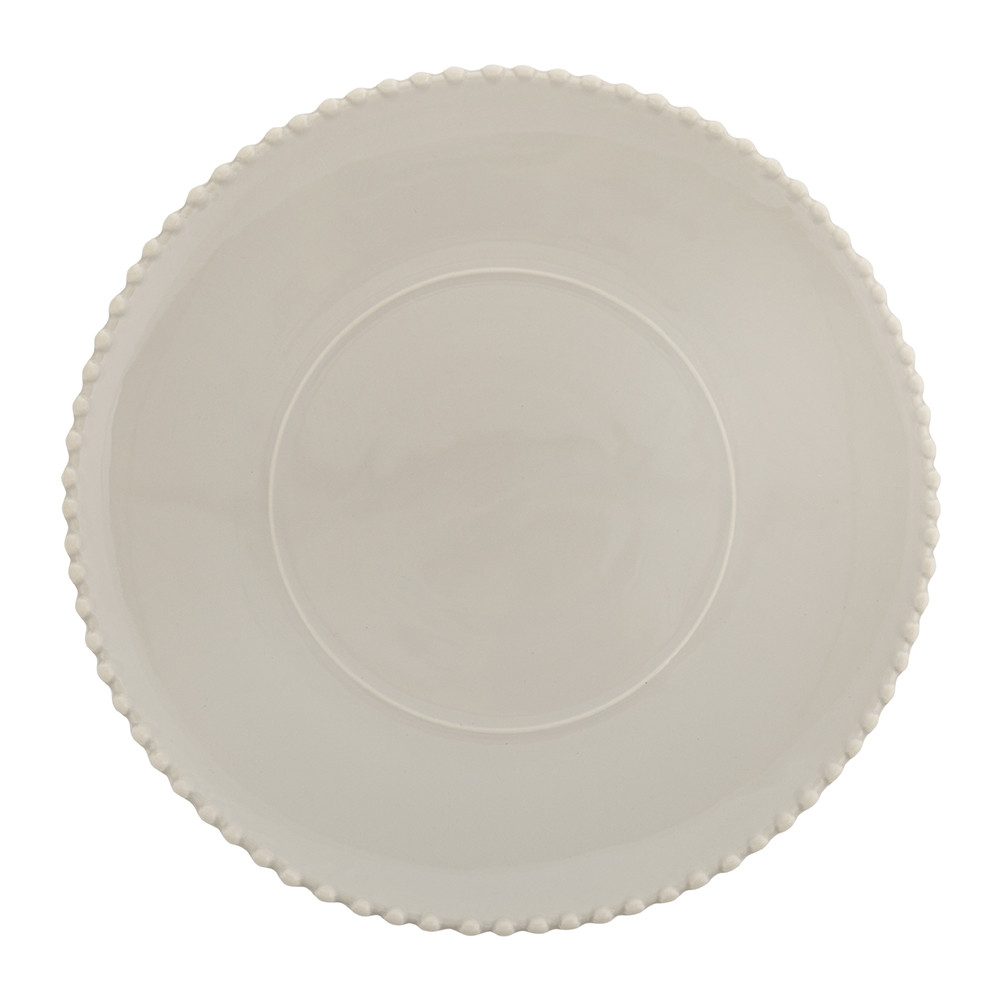 A by Amara A by Amara – Luis Stoneware Serving Plate – Taupe